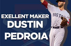 MLB 보스턴 레드삭스의 작은 거인 내야수, 야구 선수 더스틴 페드로이아!