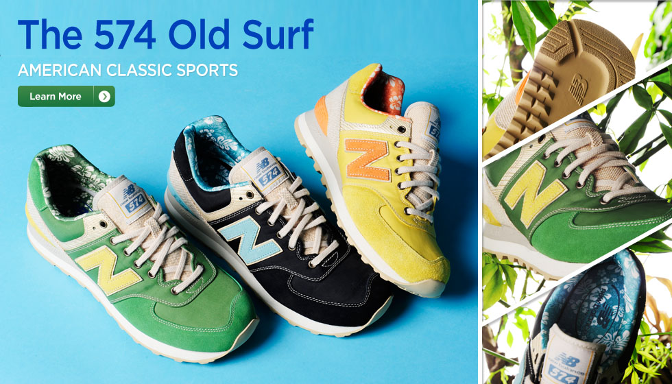 The 574 Old Surf Collection