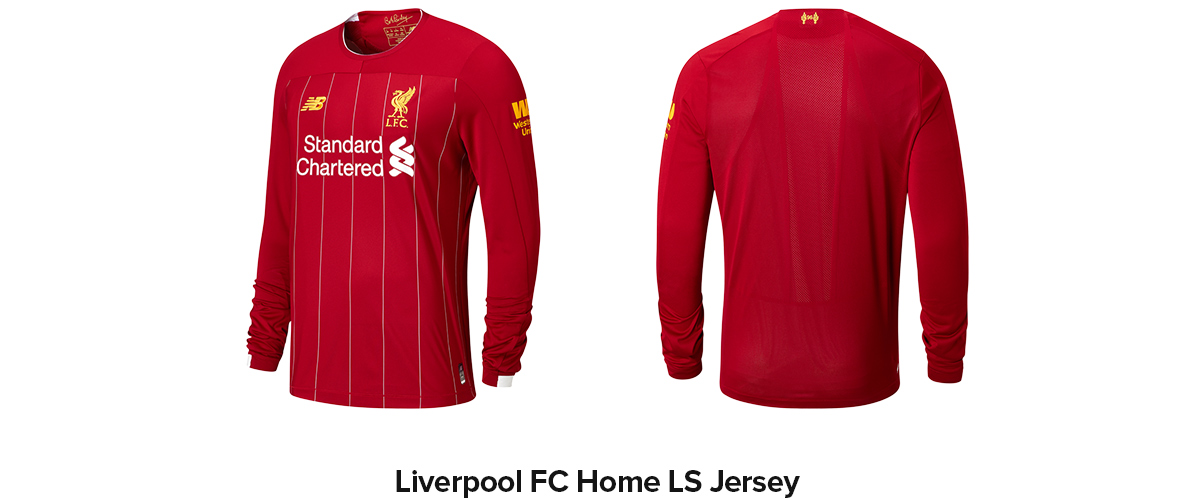 Liverpool FC Home LS Jersey