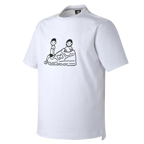 UNI NORITAKE 슈즈 티셔츠