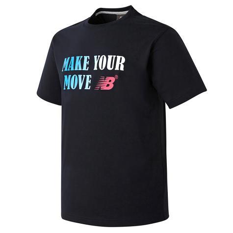 UNI 그라데이션 레터링 티셔츠 (NEW BASIC FIT)