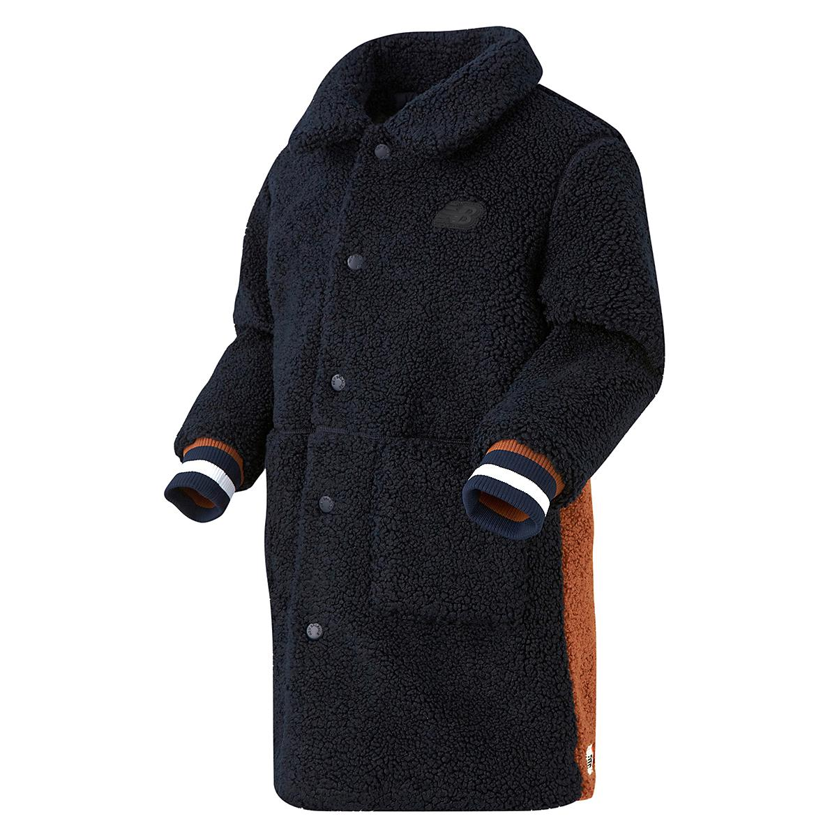 덤블플리스 코트형 자켓