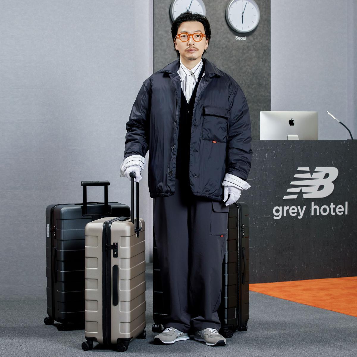 HOTEL990 경량 셔츠 구스 다운 자켓