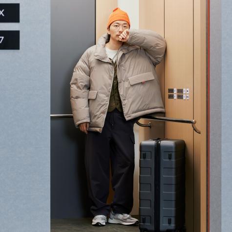 HOTEL 990 푸퍼 구스 다운 자켓